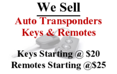 Auto Key Transponders